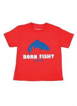 Simms Kid's Born Fishy Trout SS T-Shirt