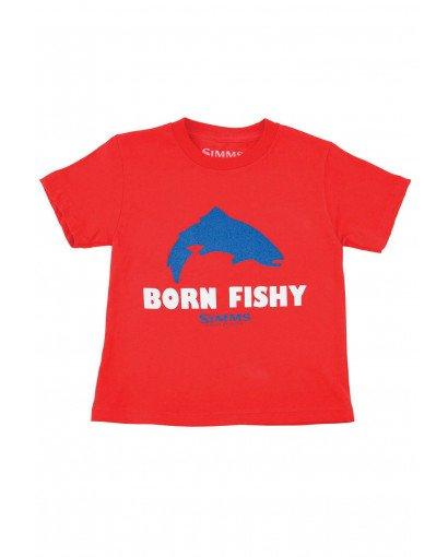 Simms Kid's Born Fishy Trout SS T-Shirt