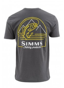Simms Weekend Trout SS T-Shirt