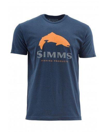 Simms Trout Logo SS T-Shirt