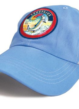 TrueFlies Tarpon Trucker Hat - Washed Sky
