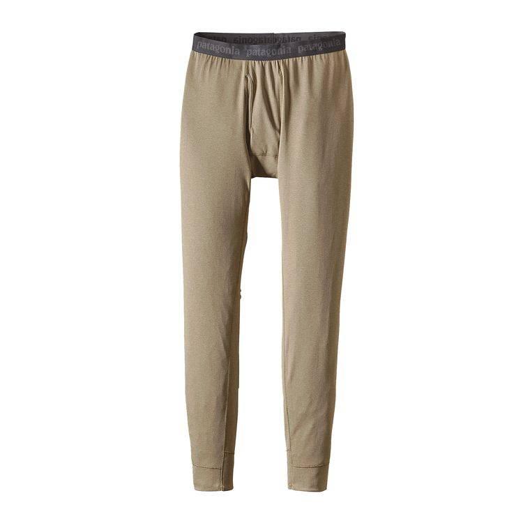 Patagonia Men's Capilene® Midweight Bottoms - Ash Tan
