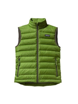 Patagonia Boys' Down Sweater Vest - Hydro Green