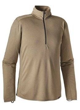 Patagonia Men's Capilene® Midweight Zip-Neck - Ash Tan