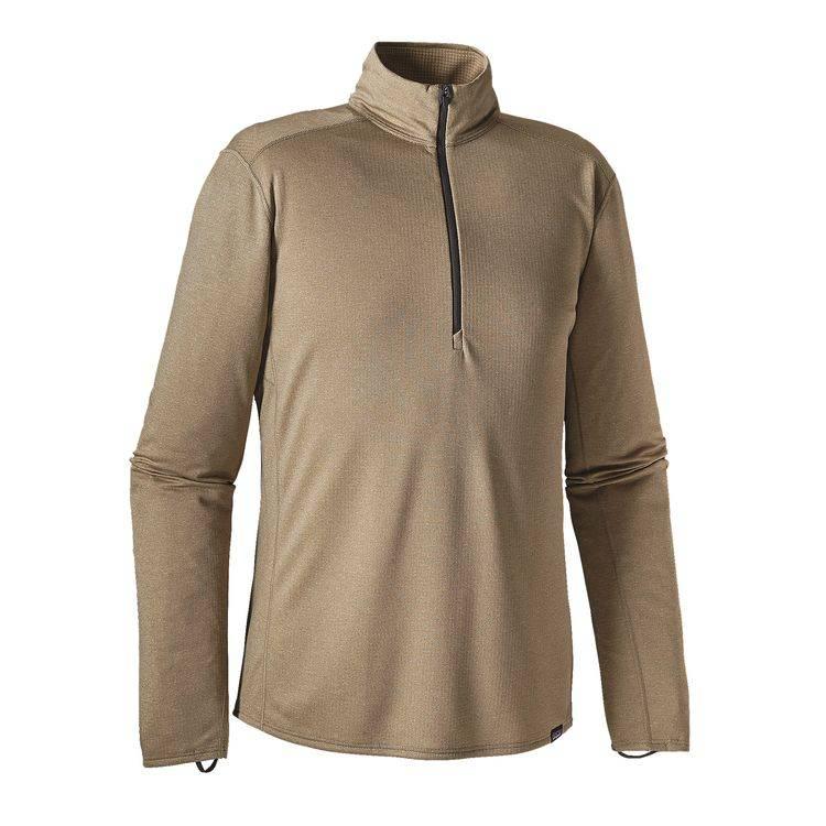 Patagonia Men's Capilene® Midweight Zip-Neck - Ash Tan