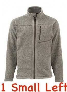 Simms Rivershed Full-Zip Sweater - SMALL
