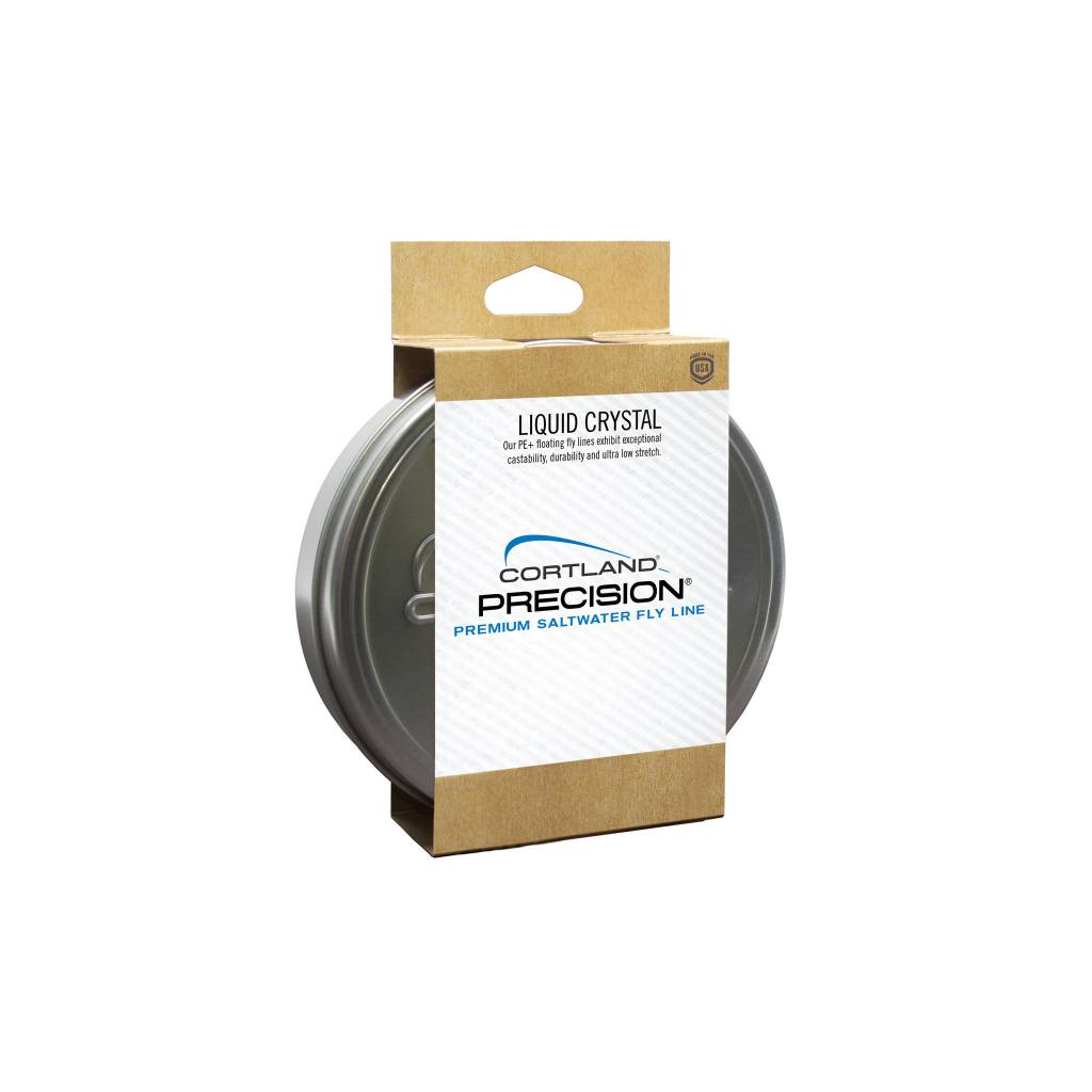 Cortland Liquid Crystal Tarpon Taper Fly Line with PE+ Coating