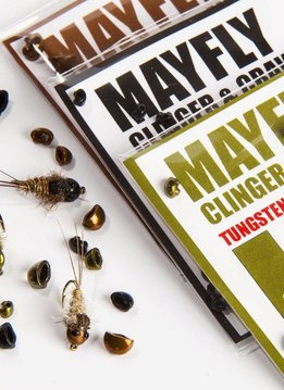 Nymph Head Tungsten Beads - Mayfly