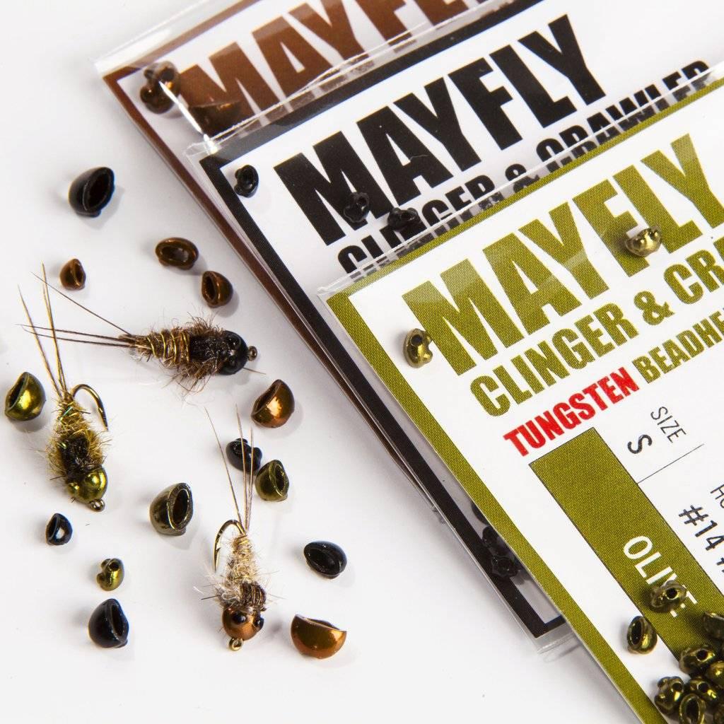 Nymph Head Tungsten Beads - Mayfly