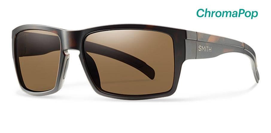 Smith Outlier XL Sunglasses Matte Tortoise ChromaPop Polarized Brown