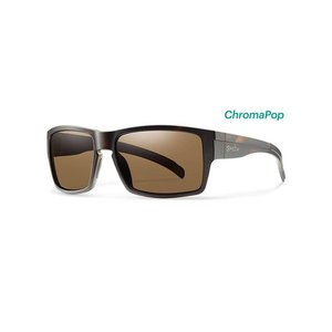 Smith Outlier XL Sunglasses Matte Tortoise ChromaPop Polarized Brown