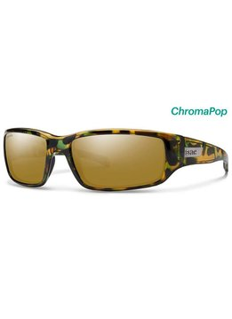 Smith Prospect Sunglasses Flecked Green Tortoise ChromaPop Polarized Bronze Mirror