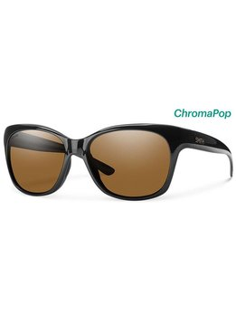 Smith Feature Sunglasses Black ChromaPop Polarized Brown