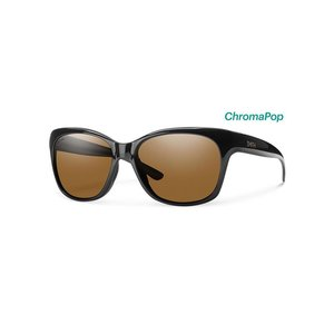 Smith Feature Sunglasses Black ChromaPop Polarized Brown