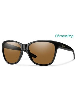 Smith Ramona Sunglasses Black ChromaPop Polarized Brown