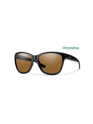 Smith Ramona Sunglasses Black ChromaPop Polarized Brown