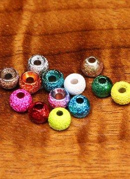 Hareline Gritty Brass Beads