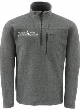 Simms MRFC Logo Rivershed Sweater Quarter Zip