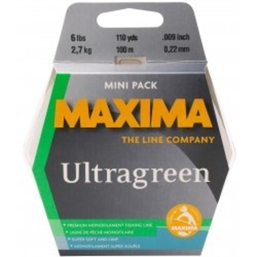 Maxima Ultragreen Mini Pack Tippet Spools