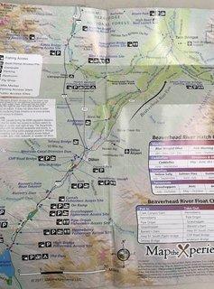 Madison River/Ruby River/Beaverhead River Pocket Map