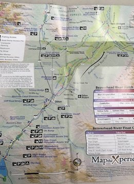 Madison River/Ruby River/Beaverhead River Pocket Map
