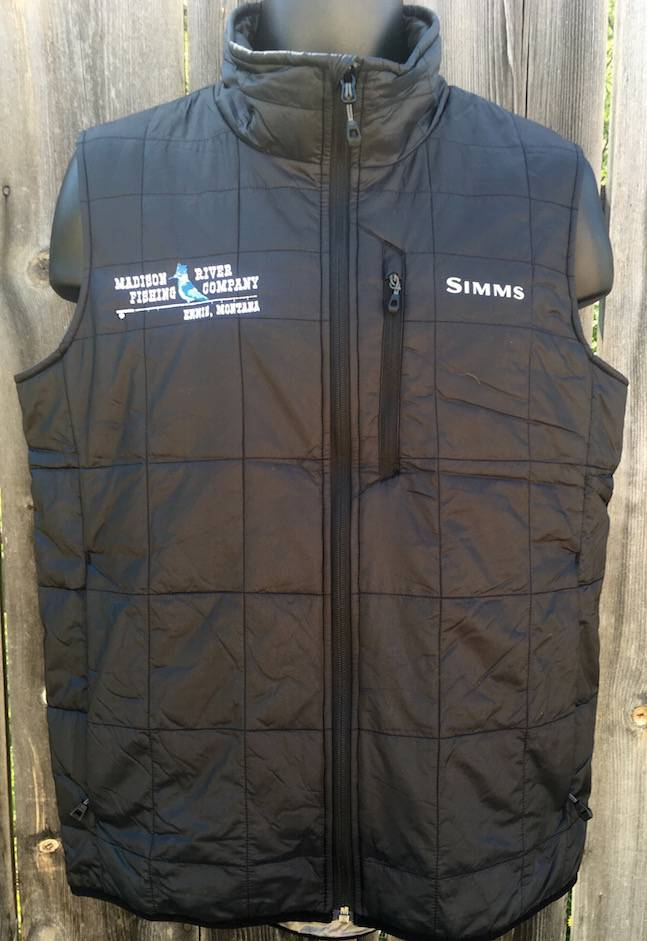 Simms MRFC Logo Fall Run Vest