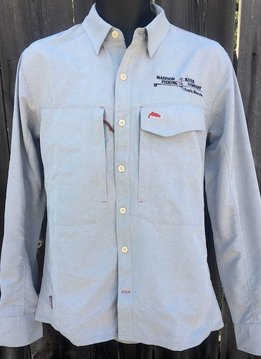 Simms MRFC Logo Guide LS Shirt - Marle Knit