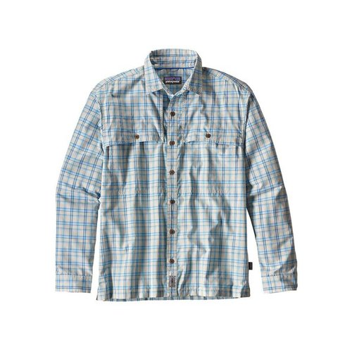 Patagonia MRFC Logo Men's LS Island Hopper II Shirt - SMALL
