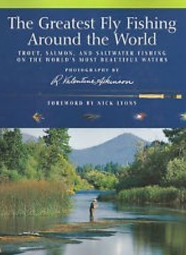 Book-The Greatest Fly Fishing Around the World-Atkinson-HC