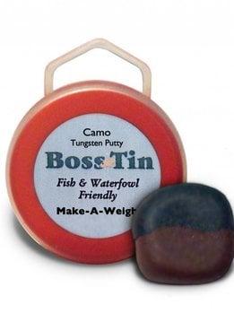 Boss Tin Make-A-Weight Tungsten Putty-Camo