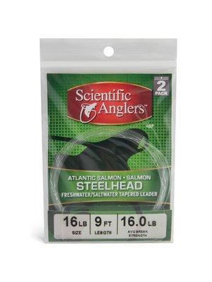 Scientific Anglers Steelhead/Salmon Leaders - 2 Pack 9'