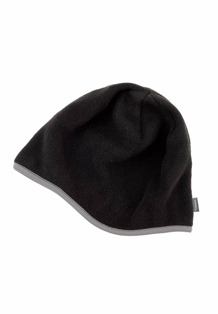Simms Fleece Hat Cap Black