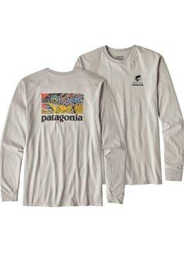 Patagonia L/S Eye of Brown T-Shirt