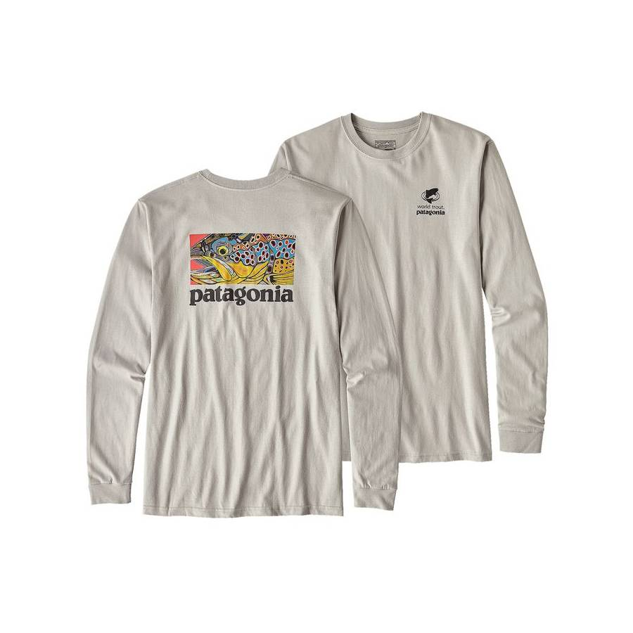 Patagonia L/S Eye of Brown T-Shirt