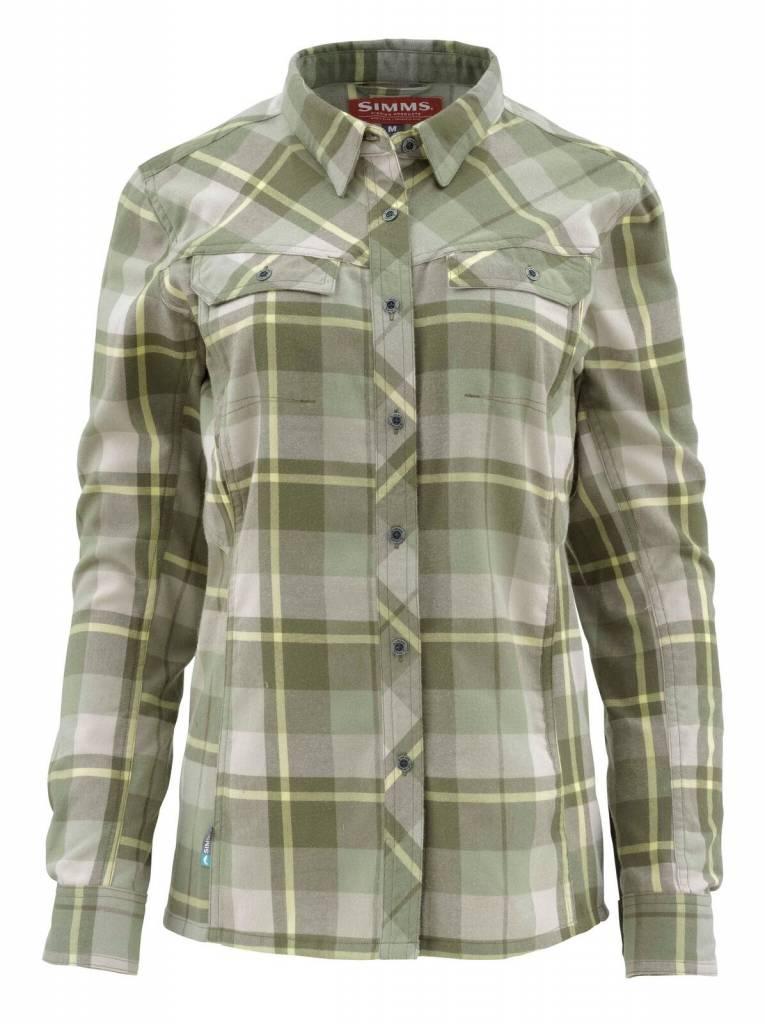Simms Womens Wool Blend Flannel