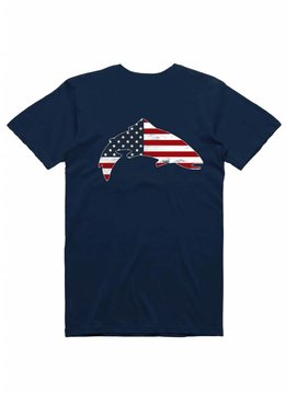 Simms Trout USA T-Shirt