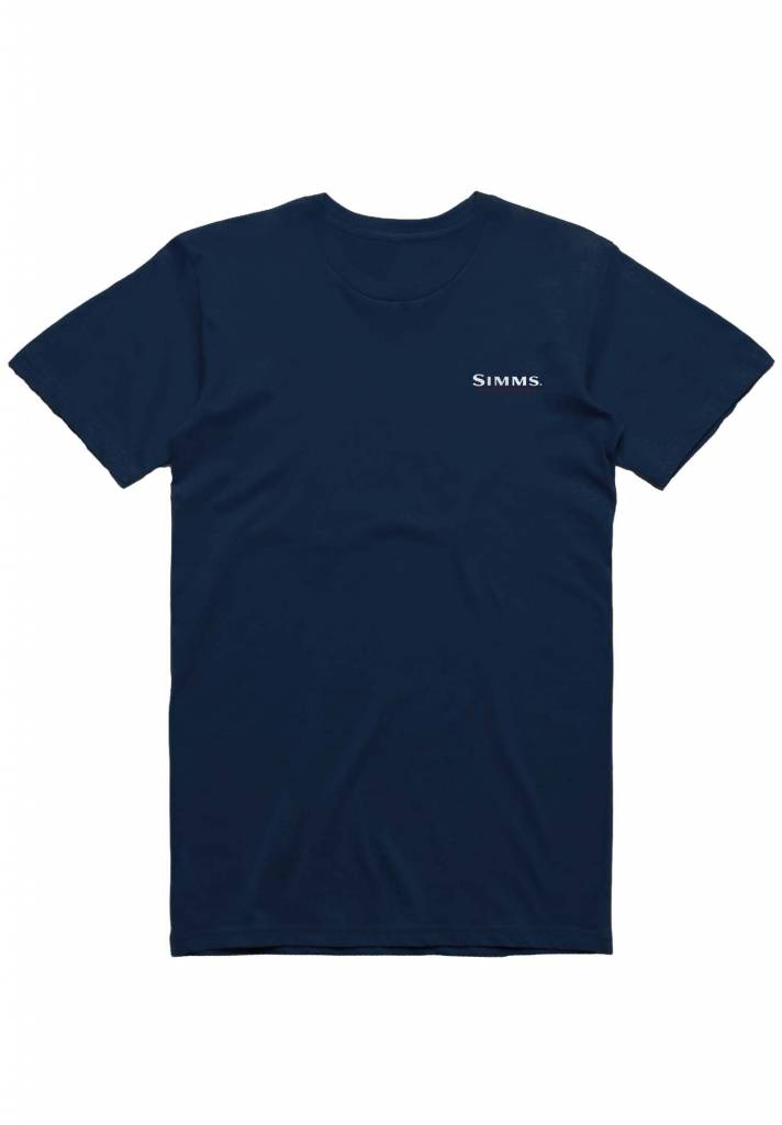 Simms Trout USA T-Shirt
