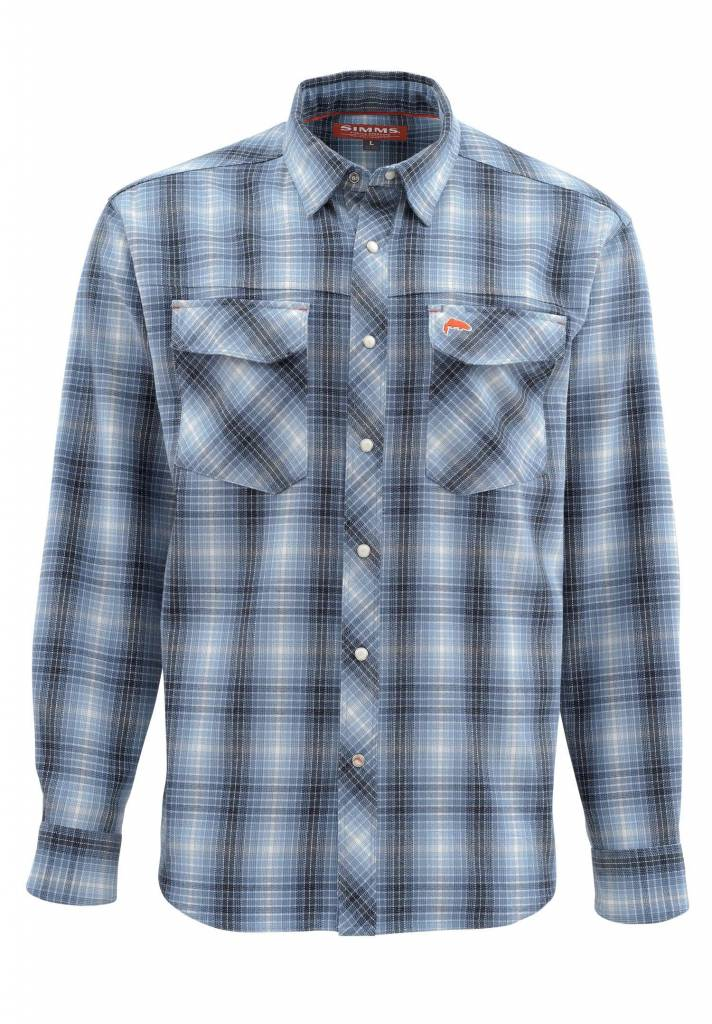 Simms Gallatin Flannel LS Shirt