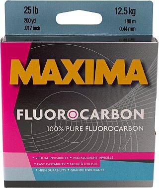 Maxima Fluorocarbon One Shot Spool