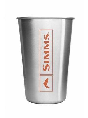 Simms Headwaters Stainless Pint Glass
