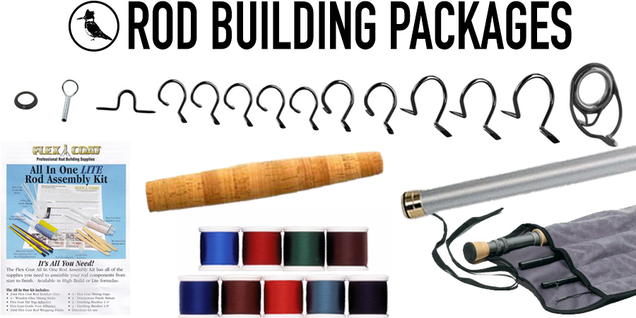 Fly rod building kits in one complete fly rod building package by the Madison River Fishing Company at MRFC.COM