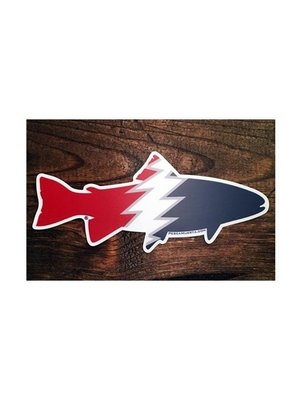 Pesca Muerta Trout Decal