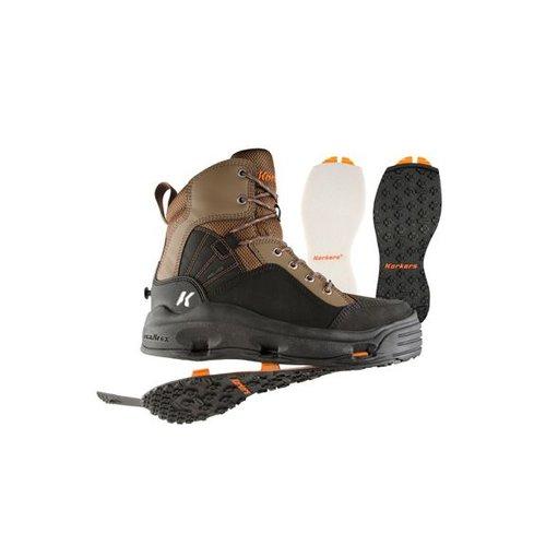 Korkers Buckskin Wading Boot Kling-On/Felt