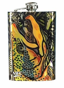 MFC Brown Trout Flasks