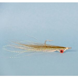 Deep Clouser Minnow Olive/White 2
