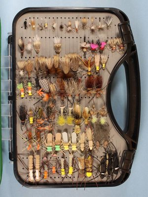 Noni's Madison River Lunch Box Fly Selection