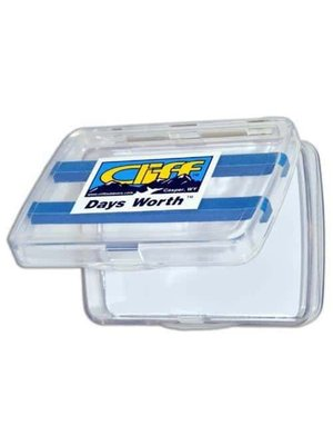 Cliff Cliff Day's Worth Fly Box