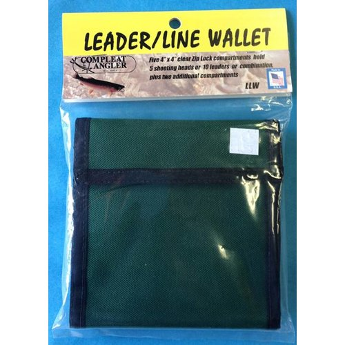 Compleat Angler Shooting Head Wallet