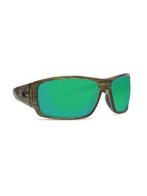 Costa Costa Cape Sunglasses Green Mirror Bowfin 580P