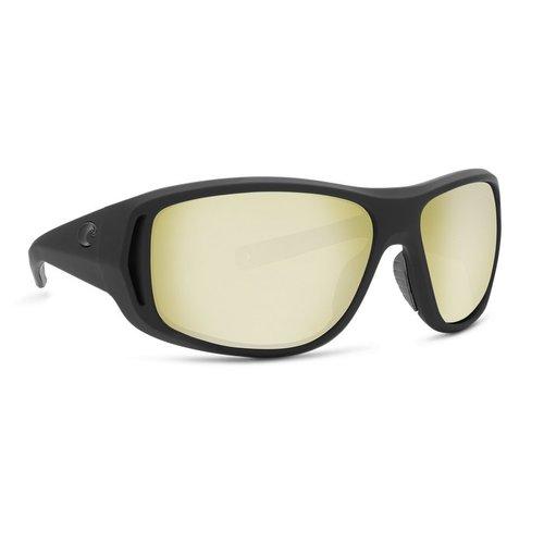 Costa Costa Montauk Sunglasses Matte Black Ultra Silver Mirror 580G